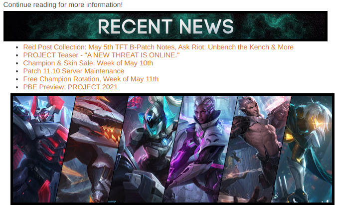 RED POST COLLECTION: TFT RECKONING AMA, K/DA MERCH RESTOCK, & MORE