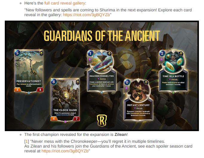 Guardians of the Ancient: