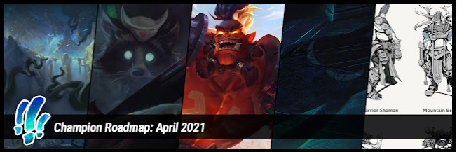 """""""Mundo say his own name a lot, or else he forget! Has happened before."""" - The latest Champion Roadmap from Reav3 is now up, with tons of teasers for upcoming champions, as well as a look at Dr. Mundo and some concepts for the Udyr champion update!"""